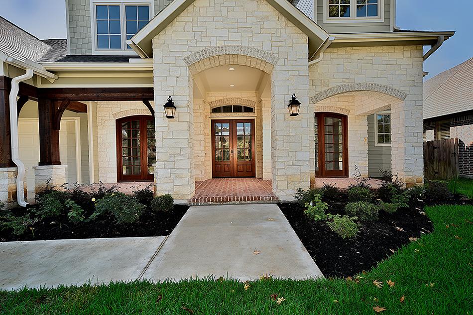 Wendell-Legacy-Homes-Custom-Estate-281-323-4580 - Front Door